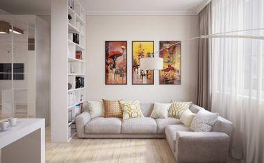 3Е-комнатная, 66.33 м²– 5